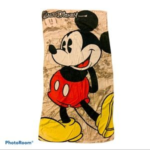 "Coolectable ""Walt Disney"" Mickey Mouse Beach towel"